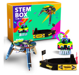 Be Cre8v - 3 in 1 STEM Based Robotics Combo