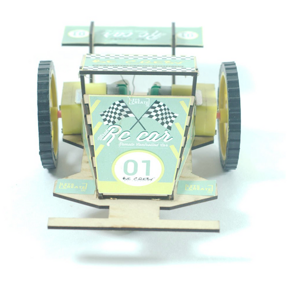 Be Cre8v - Wired RC Car Kit