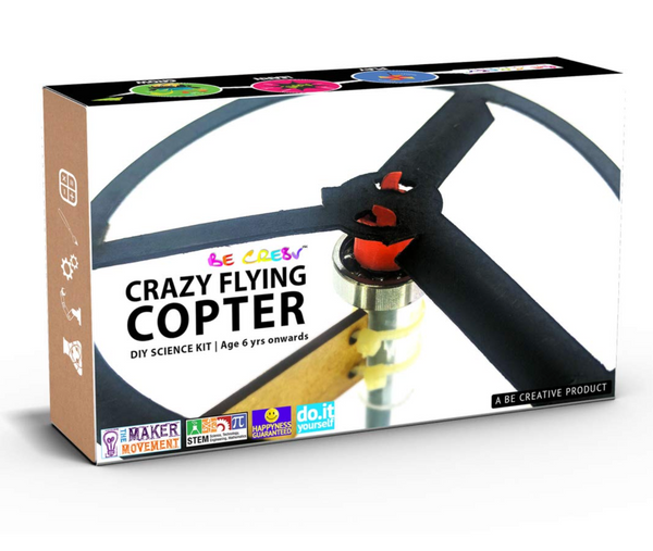 Be Cre8v - Crazy flying copter