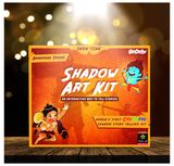 Be Cre8v -  Ramayana Theme Shadow Story Art Activity Kit