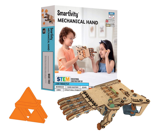 Smartivity - Robotic Mechanical Hand for kids