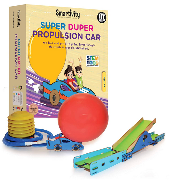 Smartivity -  Super Duper Propulsion Car