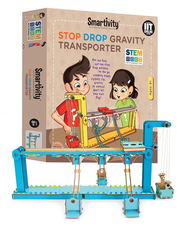 Smartivity -  Stop Drop Gravity Transporter