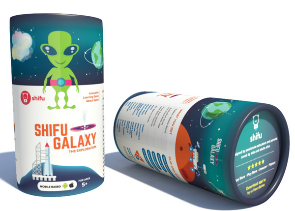 Shifu Galaxy- AR Educational Game detailing Extra Terrestrial objects and Space personalities