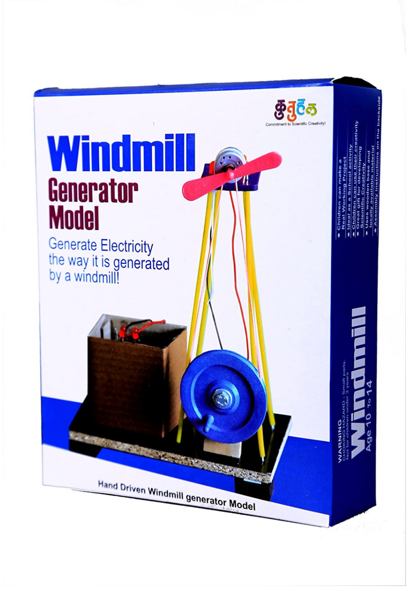 Kutuhal -  Wind Mill Making Kit