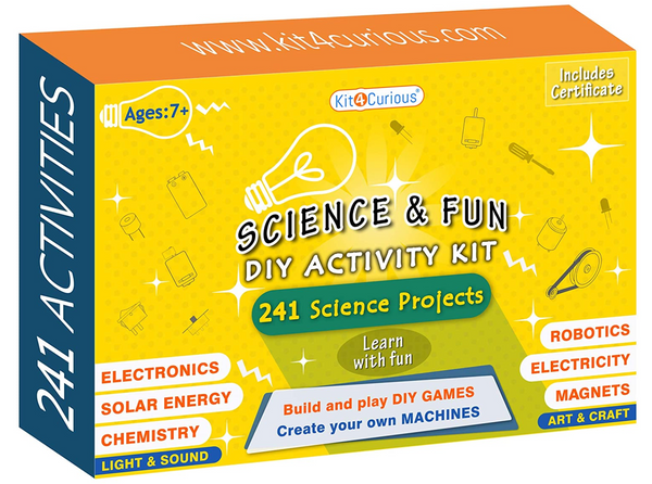 Kit4Curious - Science & Fun DIY Activity Kit
