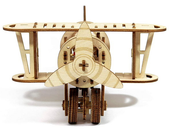 Funvention -  Little Scientist DIY Biplane mechanical model