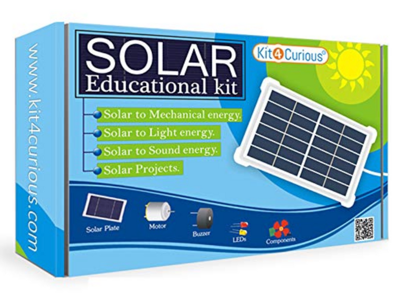 Kit4Curious - Plug and Play Solar Educational Learning Kit