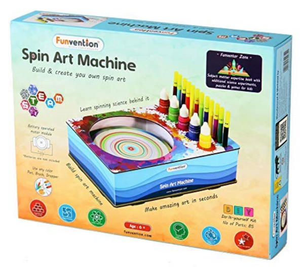 Funvention -  Spin Art Machine