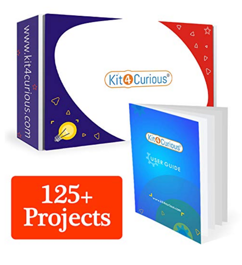 Kit4Curious - 125 Science Electronics Projects with tutorials