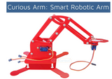 Kit4Curious - Arduino Compatible Smart Robotic Arm with 4 Servo