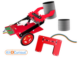 Kit4Curious - Remote Controlled Pick and Place Robot Complete kit
