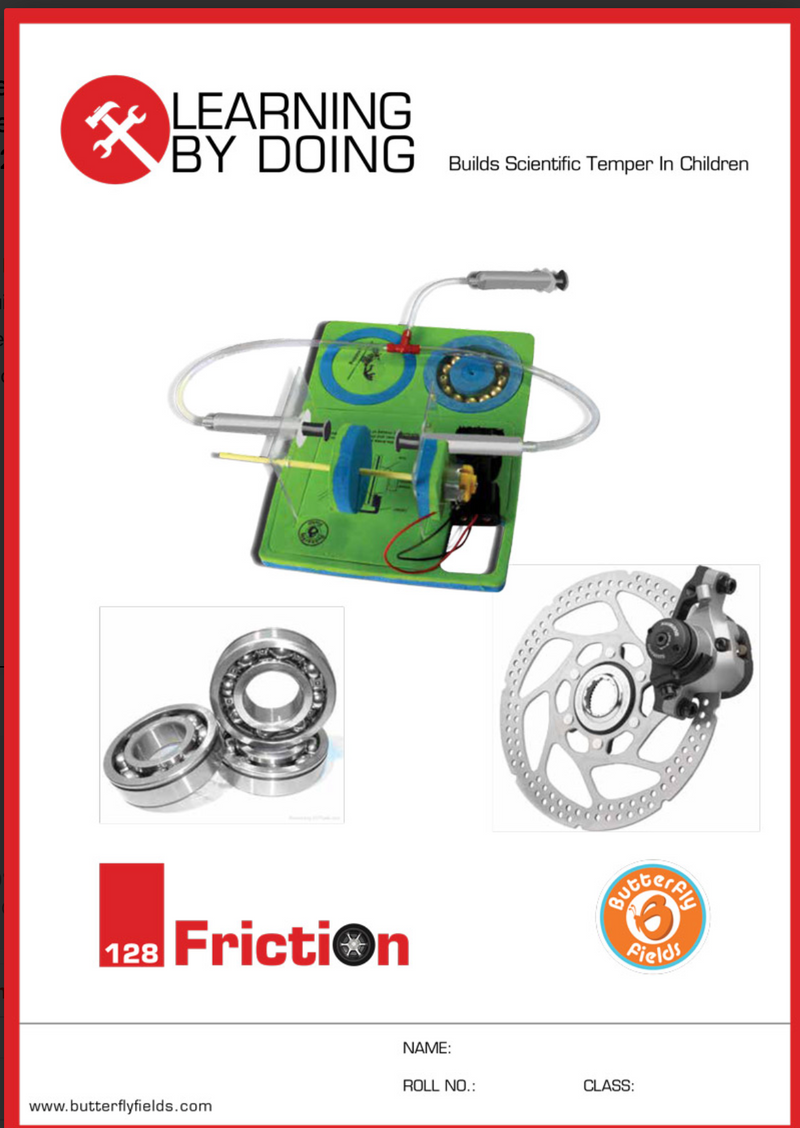 Butterfly Fields - Friction: Hydraulic Disc Brake
