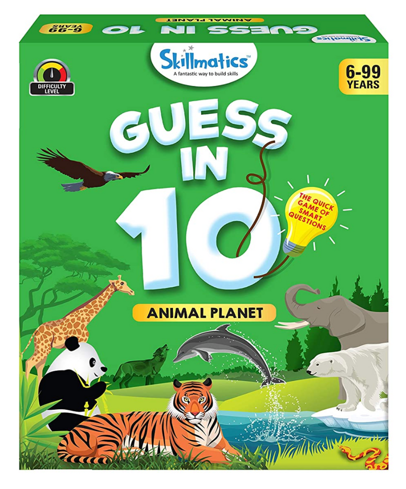Skillmatics - Guess in 10 -  Animal Planet
