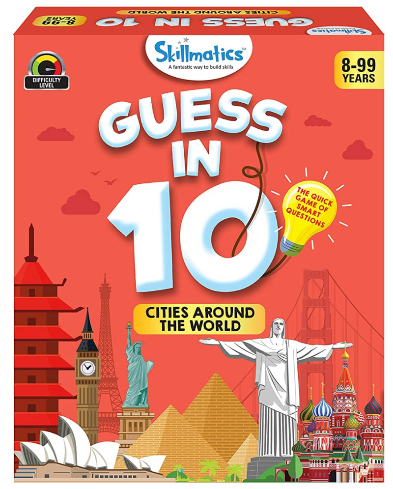 Skillmatics - Guess in 10 -  Cities around the world