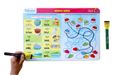 Skillmatics -English express | Learning & Activity Games | Sketching, Drawing, Creative, Art | Erasable & Reusable Mats