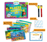Skillmatics - Places around us (3-6 Years) | Learning and Activity Games | Erasable and Reusable Mats