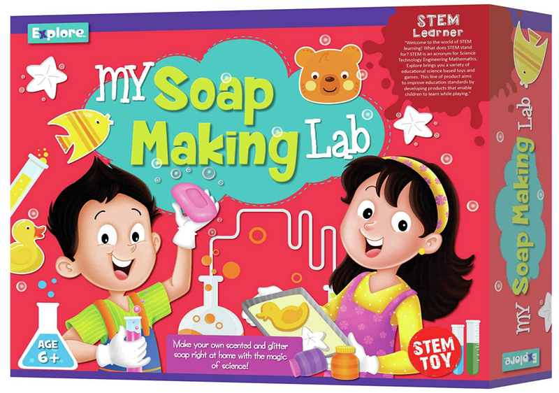 Science experiment kit - Soap making lab for kids