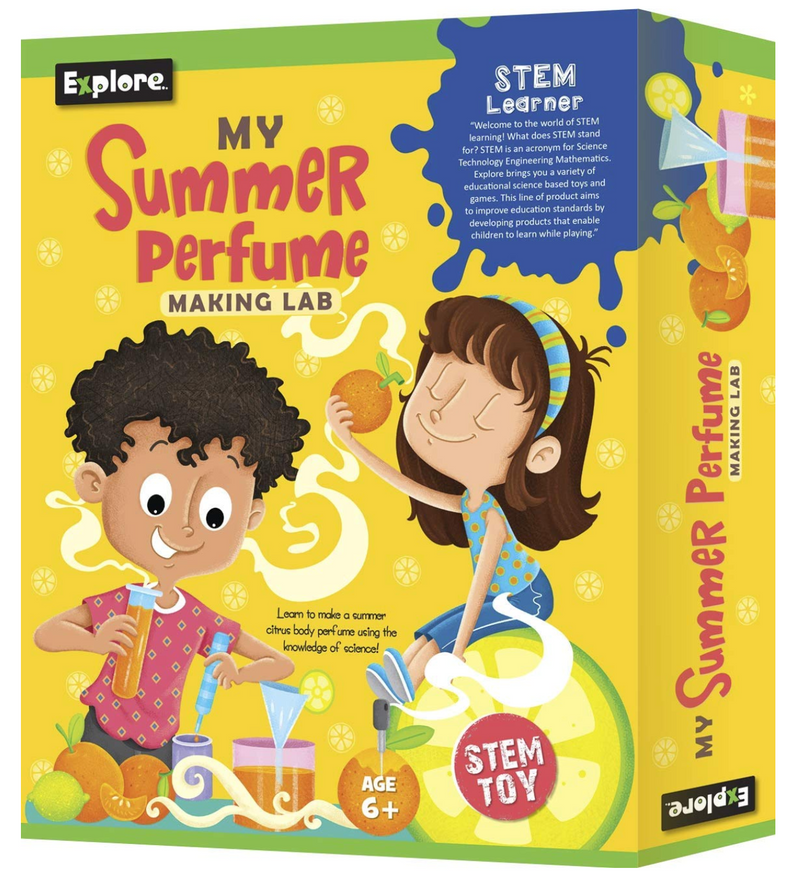 Science experiment kit - My Summer Perfume Making lab