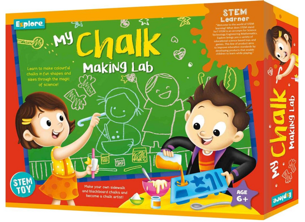 Science experiment kit - My Chalk Making Lab