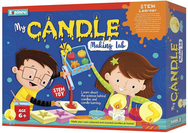 Science experiment kit - Candle making lab