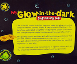 Science experiment kit - Glow in the dark soap making lab for kids