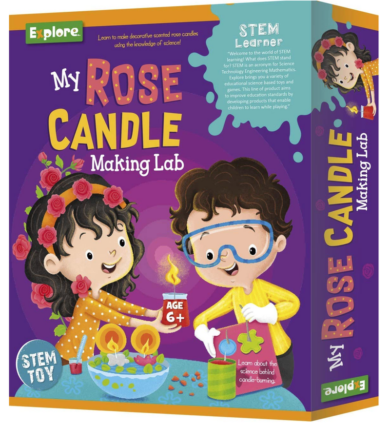 Science experiment kit - My Candle Making Lab