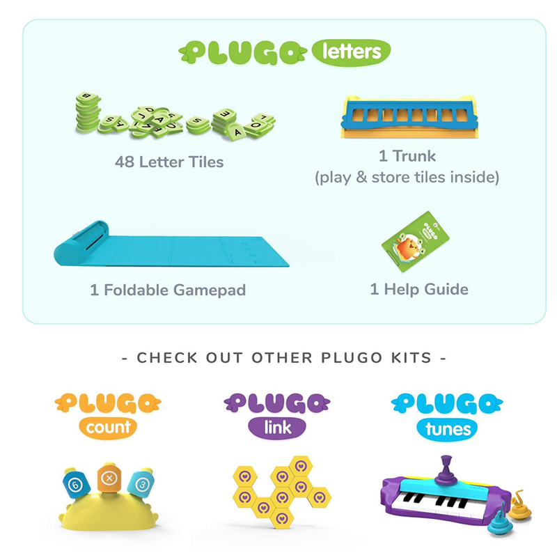 Shifu Plugo Letters - Word Building with Stories & Puzzles