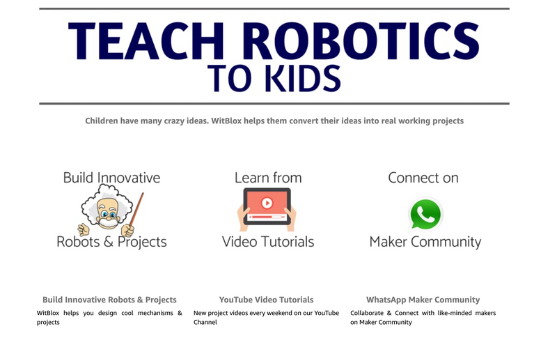 Witblox Robotics Program (For 6 years and above) intl