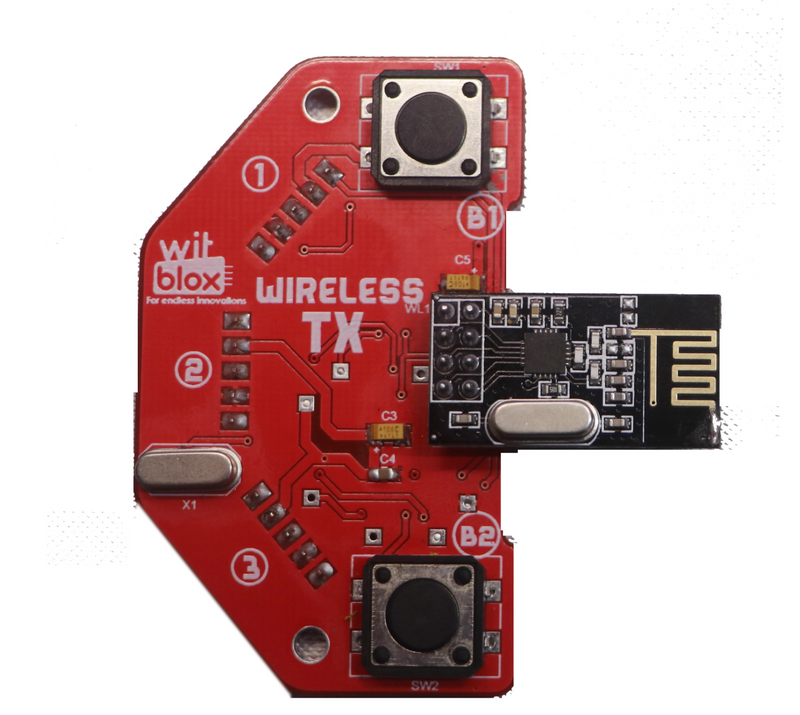 Witblox component - Wireless Remote Control - Tx & Rx