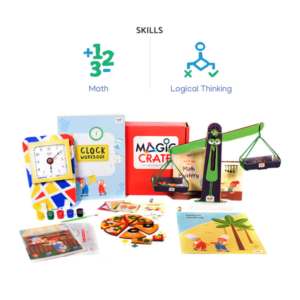 Magiccrate - 6 Month subscription-6-8-years