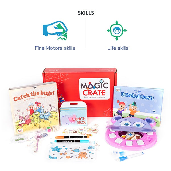 Magiccrate - 12 Months subscription-6-8-years