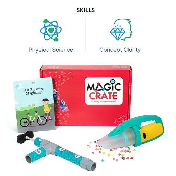 Activity boxes - 4 box combo for 2 to 6 years kid