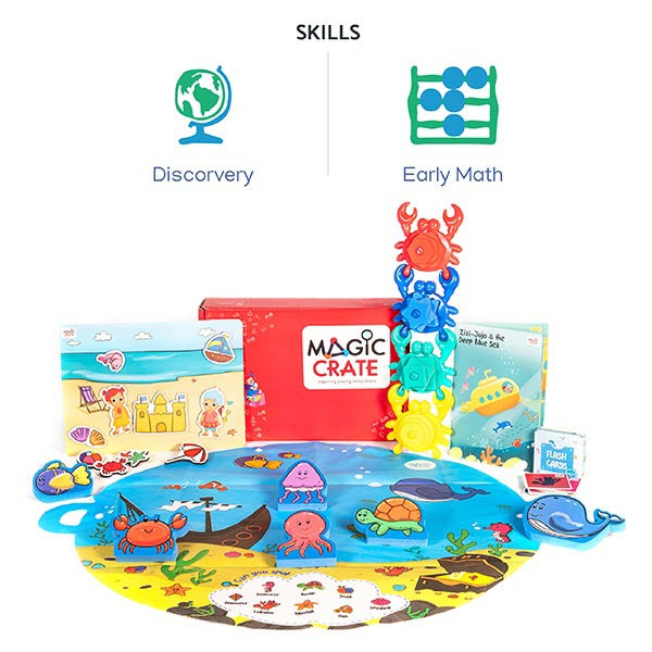 Magiccrate - 6 Month subscription-2-4-years