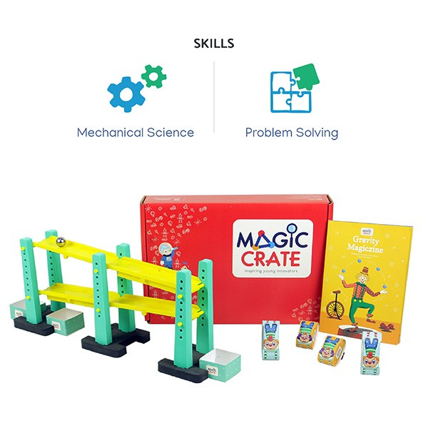 Activity boxes - 4 box combo for 7 to 12 years kid