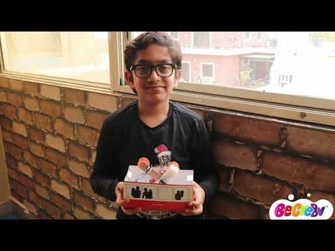 Be Cre8v - Electronic Cable Car Kit for Children