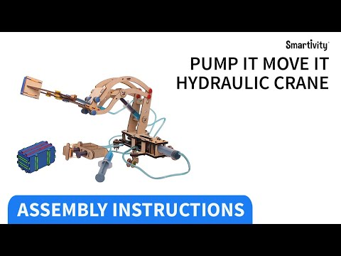Smartivity -  Hydraulic Crane experiment kit for kids