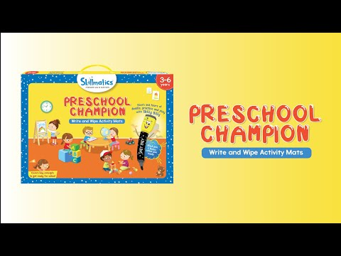 Skillmatics -  Preschool champion