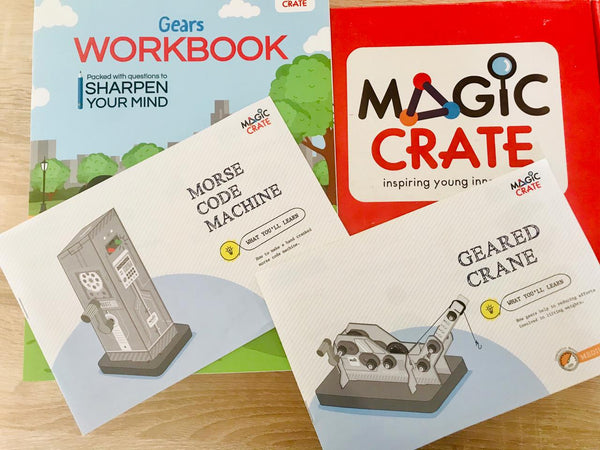 Magic Crate Activity boxes - Gears