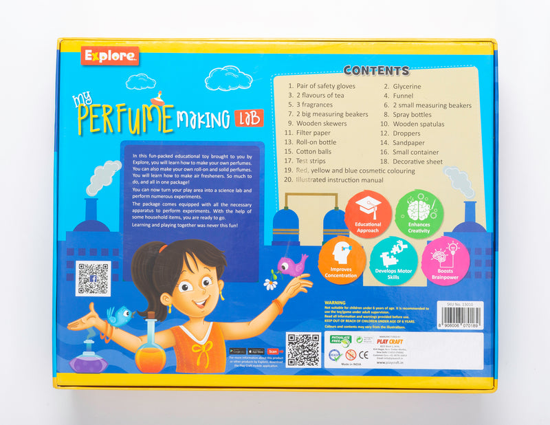 Science experiment kit - Perfume Making Lab