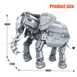 Remote Controlled Building Blocks Based Elephant