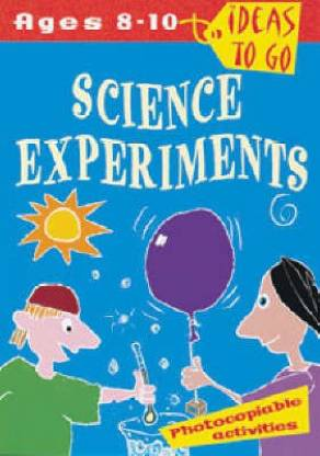 Science Experiments Book for 8-10 years old children