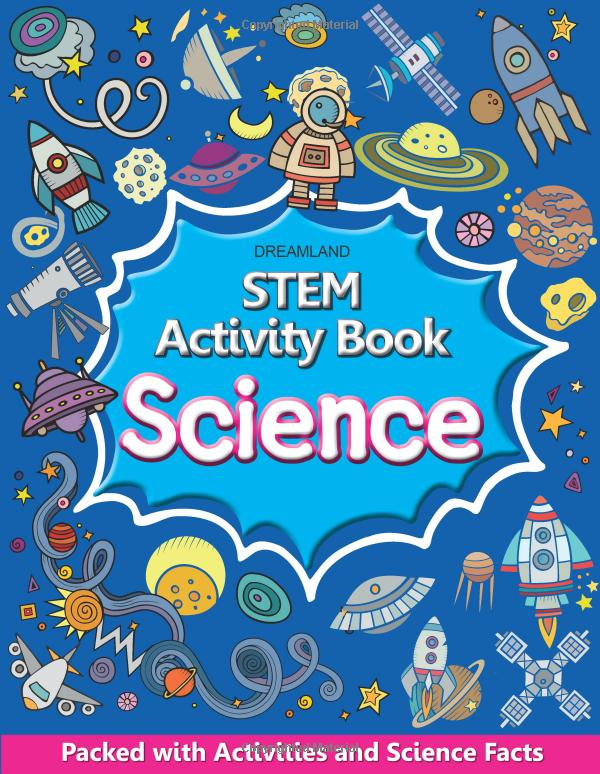 STEM activity book - 4 activity book for STEM education
