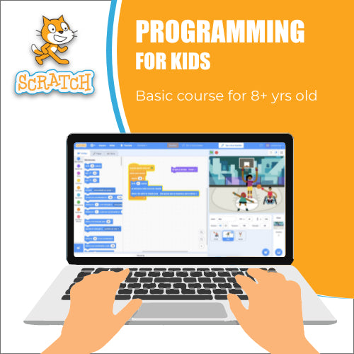 Scratch Programming Basic Course for 8+ years