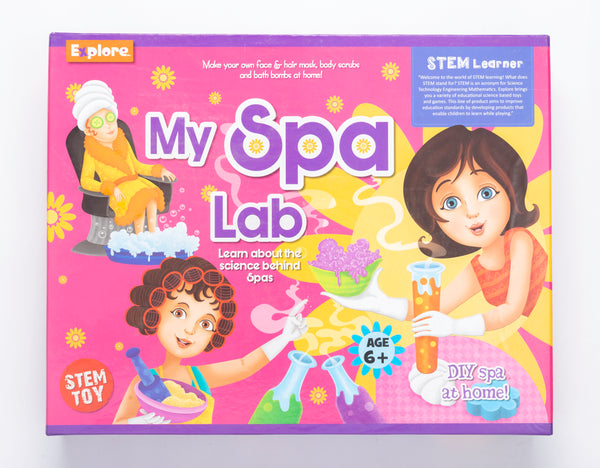 Science experiment kit - My Spa Lab
