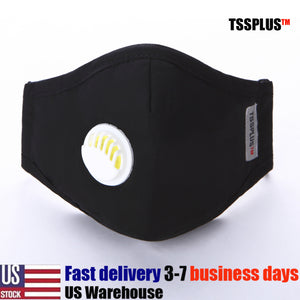 TSSPLUS™ PM2.5 Face Mask - Reusable, Washable Facial Cotton [US STOCK]