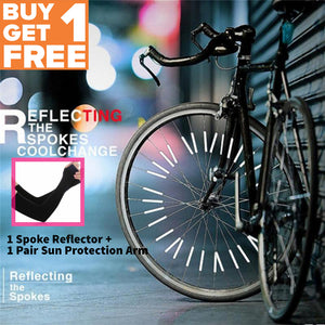 TSSPLUS™ BICYCLE WHEEL SPOKE REFLECTOR (12PCS/PACK) + FREE GIFT