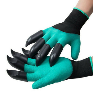 TSSPLUS™Gardening Digging Planting Pruning Tools Lawn Care 8 Claws Garden Genie Gloves