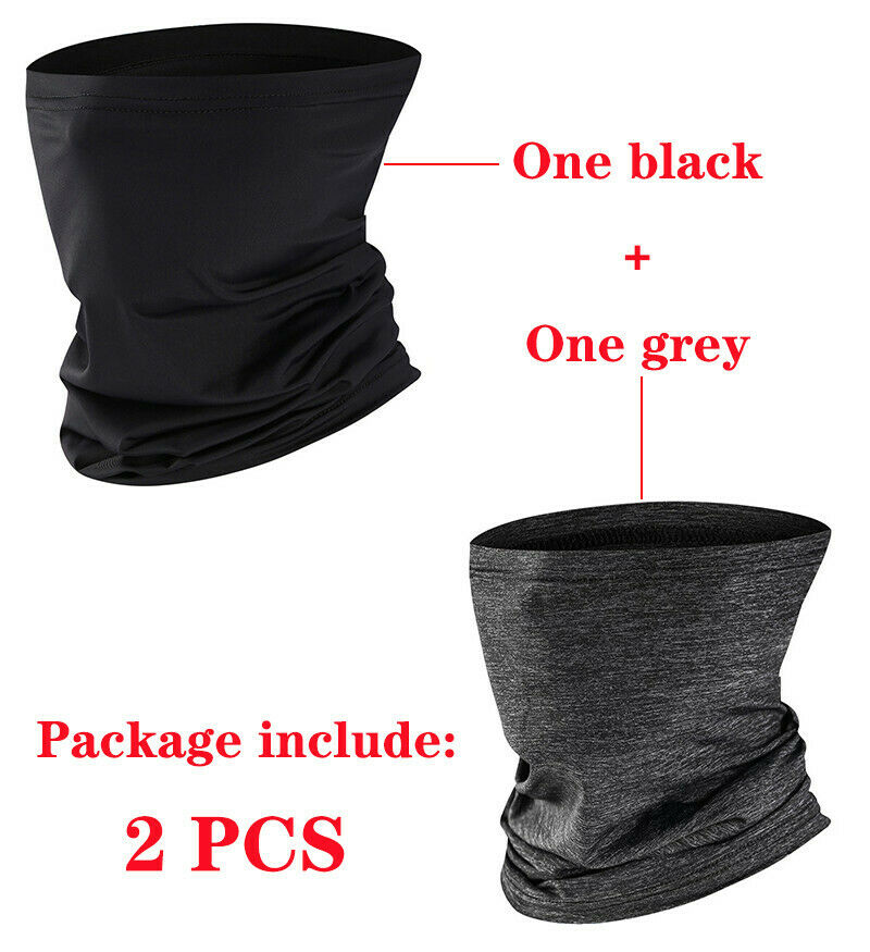 TSSPLUS™Sun UV Bandana Neck Gaiter Face Cover Tube [US STOCK]