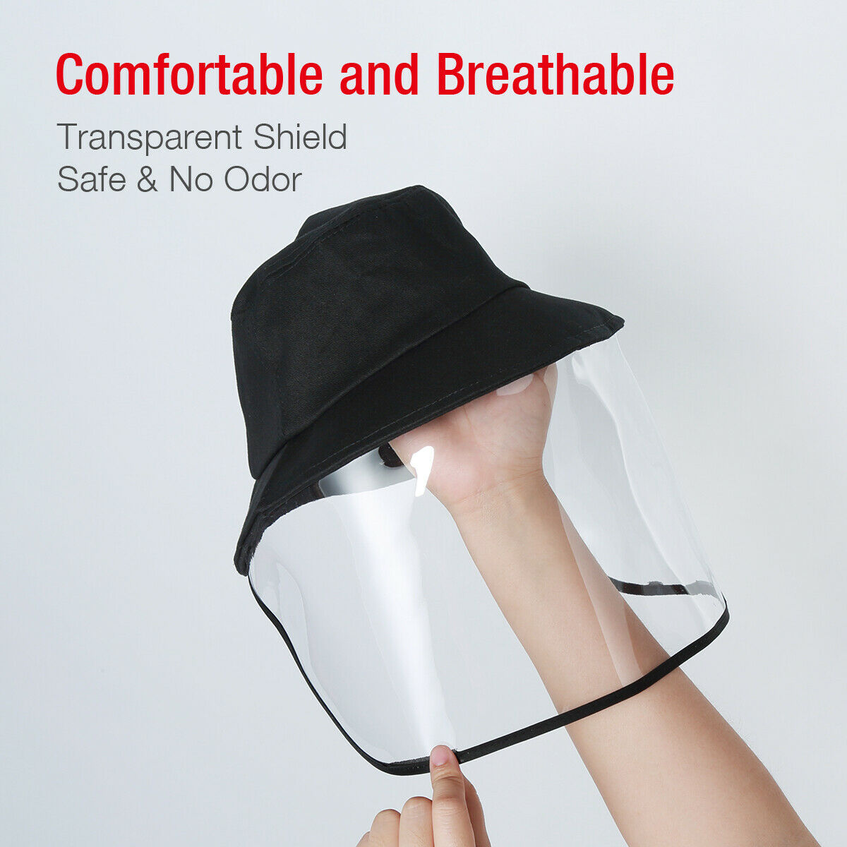 TSSPLUS™ Anti Saliva Transparent Face Shield Hat Splash[US STOCK]
